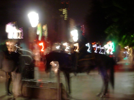 Horse Mounted Police in Jackson Square, 2006